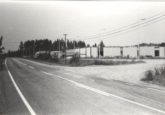 Mäntykeron tehdas vuonna 1978. Kuva: Mäntyharjun museo, kuvaaja: Mauno Vihermaa.