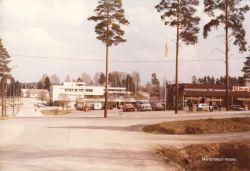Kunnan virastotalo vuonna 1978. Kuva: Mäntyharjun museo, kuvaaja: Hannu Heilio.