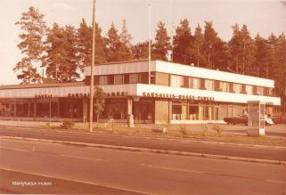 Kansallis-Osake-Pankki Mäntyharjussa vuonna 1978. Kuva: Mäntyharjun museo, kuvaaja: Hannu Heilio