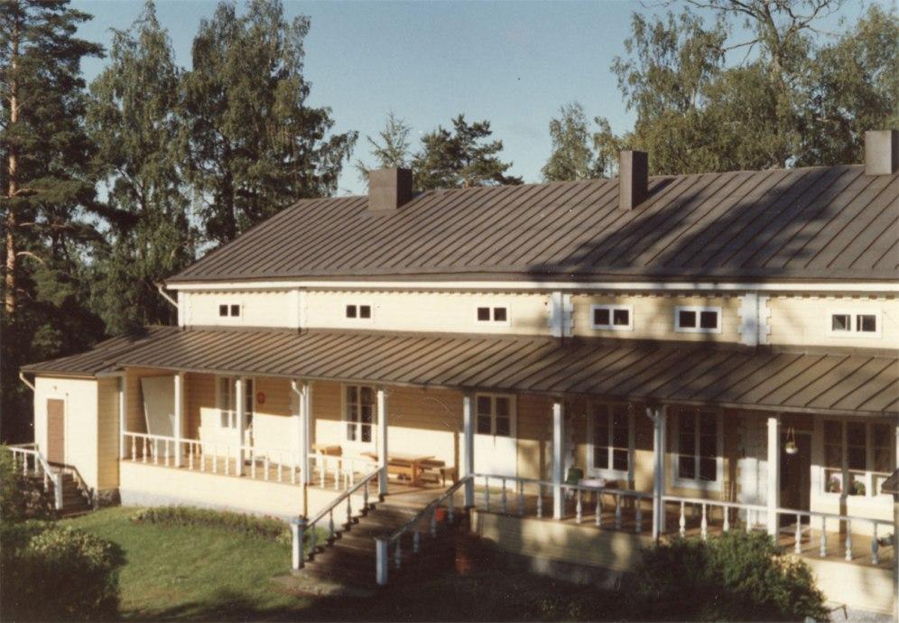 Iso-Pappila vuonna 1978. Kuva: Mäntyharjun museo, kuvaaja: Hannu Heilio.