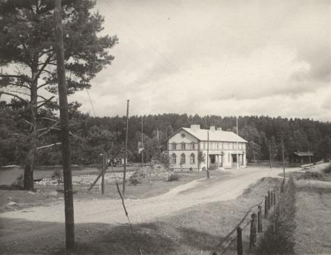Salmela noin vuonna 1930. Kuva: Mäntyharjun museo.