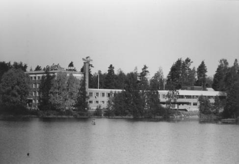 Mäntyharjun Kenkätehdas vuonna 1981. Kuva: Mäntyharjun museo, kuvaaja: Hannu Heilio.