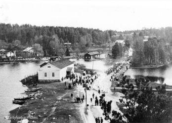 Salmela vuoden 1900 paikkeilla. Kuva: Mäntyharjun museo.