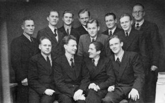 Mäntyharjun Laulu-Sepot vuonna 1947.