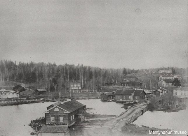 Salmela 1890-luvulla. Kuva: Mäntyharjun museo.
