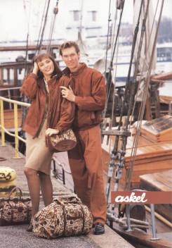 Askelen mainos 1980-luvulta.