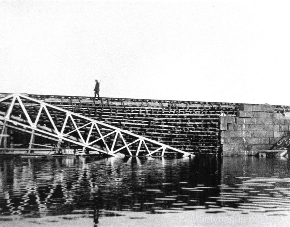 76_vartija Kiepin rautatiesilla vuonna 1918